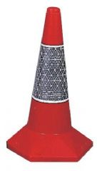JSP JAA049-220-600  Traffic Cone Des 2 Sand Weighted 50 Cm